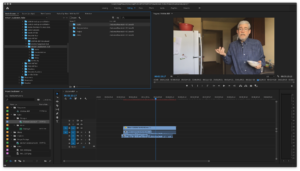 Adobe Premiere Pro Workspace
